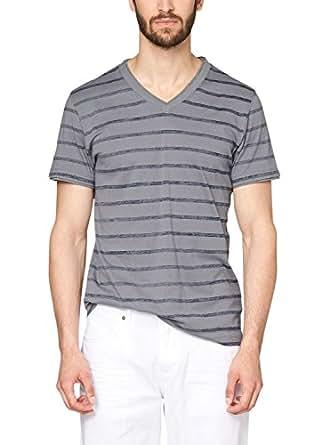 s.Oliver Herren T-Shirt mit Ringel, Gestreift, Gr. XXX