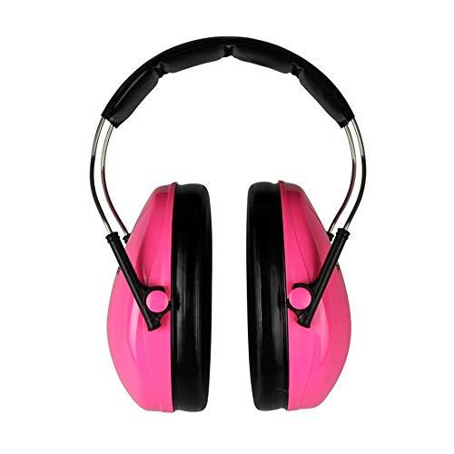 Ohrenschützer Elektronischer Gehörschutz Ohrenschützer für Kinder, bequeme Kinder-Ohrenschützer SNR 26db / NRR 22dB geräuschreduzierende Baby-Ohrenschützer, verstellbare, weiche Kopfbügel-Ohrenschütze
