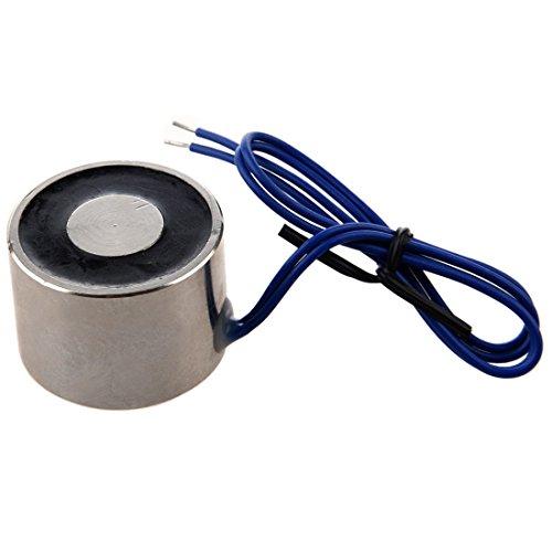 Electro-aimant - TOOGOO(R)10kg 22LBS 12V 5W aimant de levage electrique, electroaimant solenoide de levage