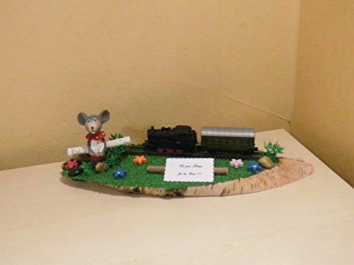 Eisenbahn Zug - Geldgeschenk Dekoration