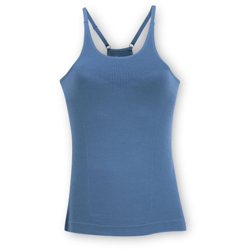 Ibex Damen Balance Sport Top Base Layer Top Lt Blueberry