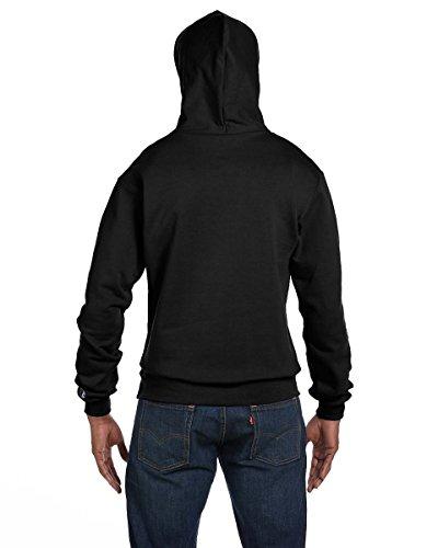 Champion Mens 50/50 EcoSmart Pullover Hood (S700) noir
