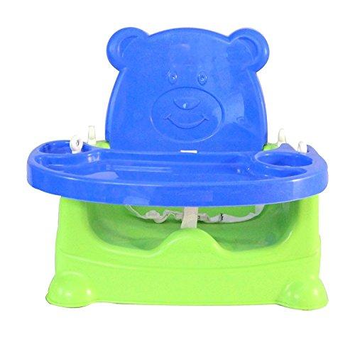 JoyKart Honey Bee 5 in 1 Baby Booster Seat Cum Swing - Blue