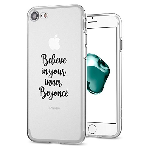 Coque iPhone 7 , Qissy® Ultra-Mince Case Coque Housse Etui Shock-Absorption Bumper Back case pour Apple iPhone 7 4.7 Inch D