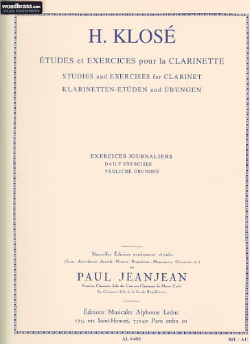 EXERCICES JOURNALIERS CLARINETTE