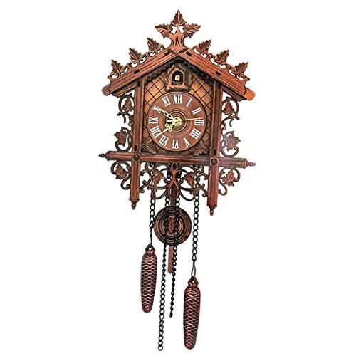 Descripción: - Relojes de cuco de madera antiguos, con batería AA de 1 pieza (no incluida). - Gran decoración para cualquier habitación, agregue un toque de belleza a cualquier habitación. - Ideal para lugares públicos, hogar, coc...
