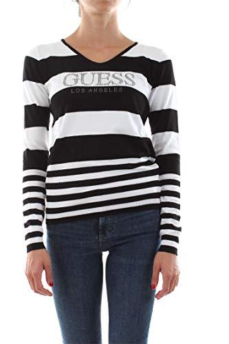 Guess Jeans W93R58Z2760 Trikot Damen Weiss S088 M