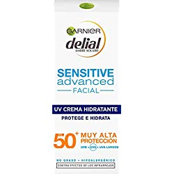 Garnier Delial Sensitive Advanced Crema Facial Hidratante IP50+ - 50 ml