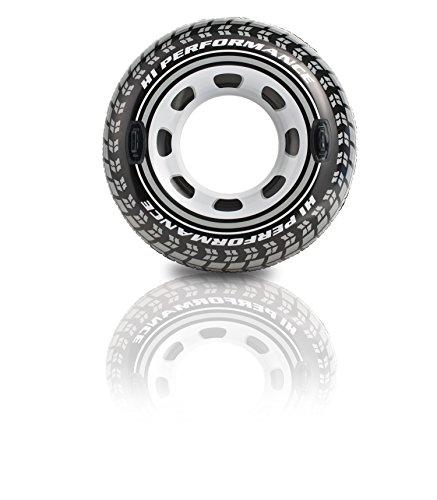 Intex Rueda hinchable neumático y con asas - diámetro 114 cm (56268)