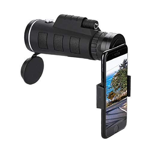Telescopio Monocular Hd 40X60 Con Enfoque Dual Zoom