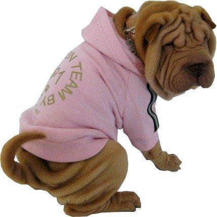 Cooles Hunde Sweater - Zicke rosa - Hundepulli - Hundeshirt - Hundemantel - Dogs Stars
