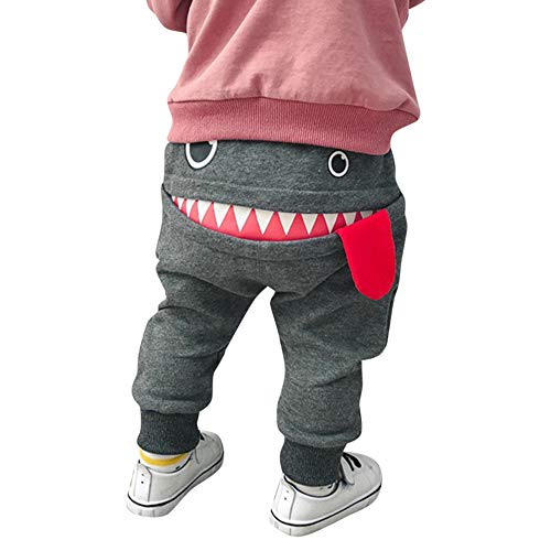 Zylione Kinder Hosen Boy Baby Shark Big Tongue Pluderhosen Hosen Kindertagesgeschenk