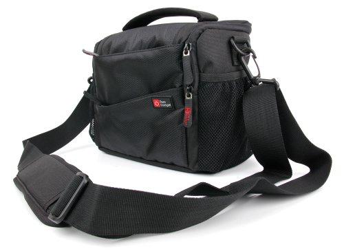 DURAGADGET Camcorder-Tasche für Sony HDR-PJ410 und HDR-PJ620 Handycam with Built-in Projector, und HDR-CX405 Handycam Camcorder; und Zubehör (mit herausnehmbaren Trennelementen) (Netzteil Für Sony Handycam)