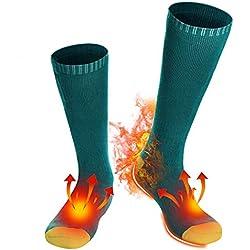 Svpro Calcetines térmicos recargable