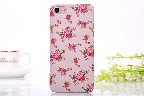 iphone7 Schutzhülle Smartphone Case einzigartige Design Back Cover Tasche (Blumen 3)