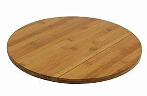 novastyl 8010046 plateau rond tournant bois cuisine maison. Black Bedroom Furniture Sets. Home Design Ideas
