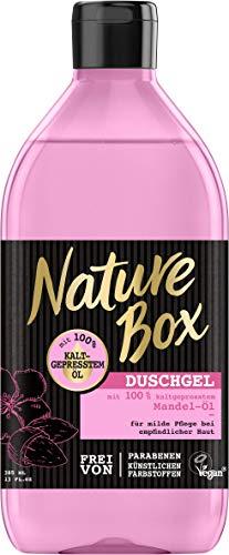 Nature Box Duschgel Mandel-Öl, 6er Pack (6 x 385 ml)