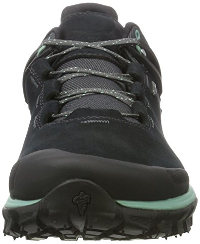Salewa Herren Wander Hiker Gore-Tex Halbschuh Trekking-& Wanderhalbschuhe Schwarz (Black Out/Berly Green 0499)