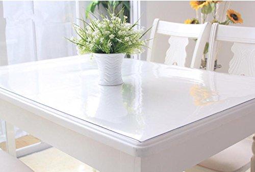 PVC mantel impermeable anti-calientes vidrio, plástico, tapetes de mesa de café suave...