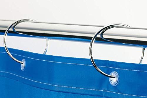 Spirella 10.13695  Duschvorhang-Ringe 12 Stück, Ringo Chrom thumbnail