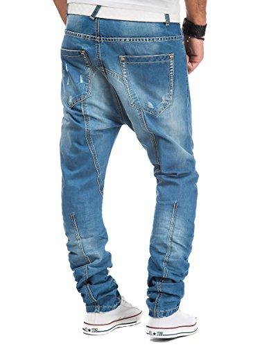 L.A.B 1928 - Jeans - Jambe droite - Homme Bleu