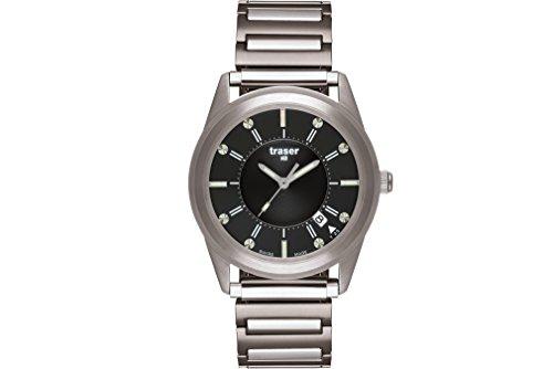 Traser H3 Reloj los Hombres Classic Translucent Black 102346