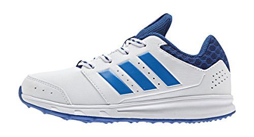 adidas Lk Sport 2 K, Chaussures de Running Mixte Bébé, Bleu Multicolore - Blanco / Azul (Ftwbla / Azuimp / Eqtazu)