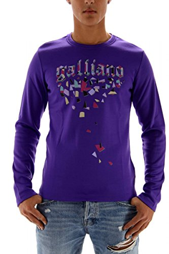 John galliano uomo sweat-shirt viola l
