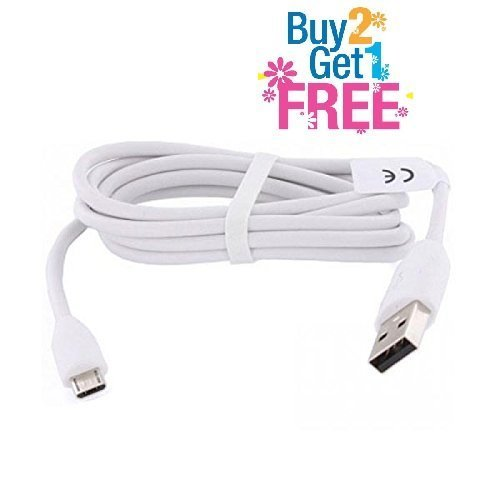 Motorola Moto X Play Dual Sim Compatible Teflon 1 Meter Micro Usb Cable For Charging Only