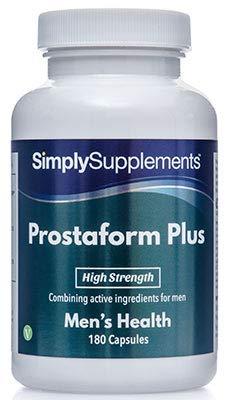 Prostaform plus - 180 capsule - Adatto ai vegani - 6 mesi di trattamento - SimplySupplements