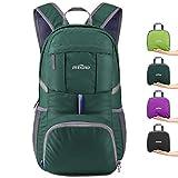 IREGRO 35L Sac à Dos Pliable 300D Nylon Imperméable Ultra-Léger Daypack Sac à Dos de Sports pour Le Camping, Randonnée, Voyage Fitness