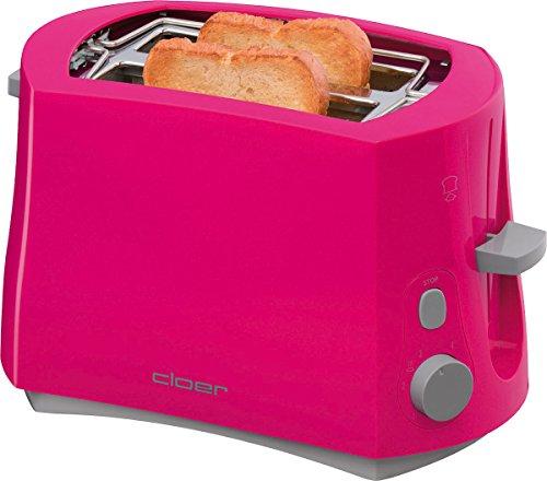 Cloer 3317–1–Toaster (825W, 230V, 17cm, 28cm, 18cm)
