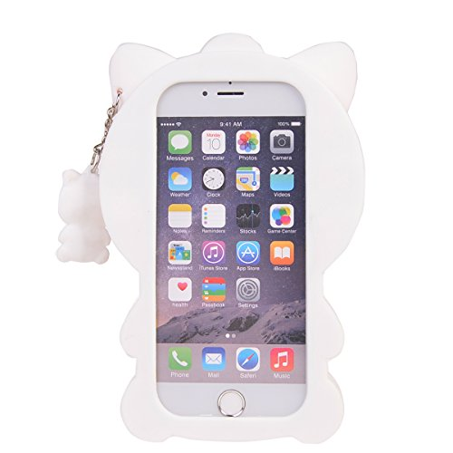 iPhone 6/ 6S (4.7 inches) Coque,COOLKE Mode 3D Style Cartoon Gel Soft silicone Coque Housse étui Case Cover Pour Apple iPhone 6/ 6S (4.7 inches) - 013 001