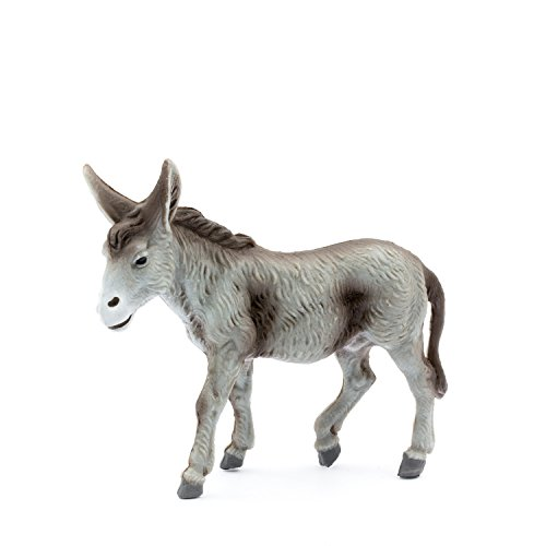 MAROLIN Esel stehend, zu 12cm Fig. (Kunststoff)
