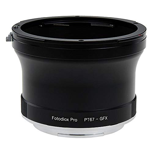 Fotodiox Pro Lens Mount Adapter, Pentax 6x7 (P67, PK67) Mount SLR Lens to Fuji G-Mount GFX Mirrorless Digital Camera Systems Fuji Digital Slr-kameras