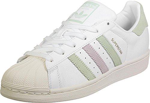adidasSuperstar W - Pantofole Donna bianco turchese