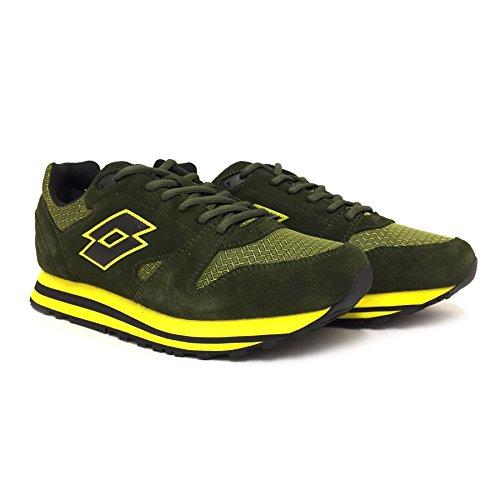 Lotto Trainer Viii NY, Chaussures de Sport Homme Noir - Negro (Thm / Blk)