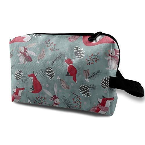Kosmetiktasche für Geldbörse, Candy Hearts_1386, Oxford Stoff Bunte Tasche Mini Travel