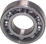 Rillenkugellager, DIN 625, 17x40x12mm, offen Bauform:offen Wellen Ø d:17mm D:40mm B:12mm