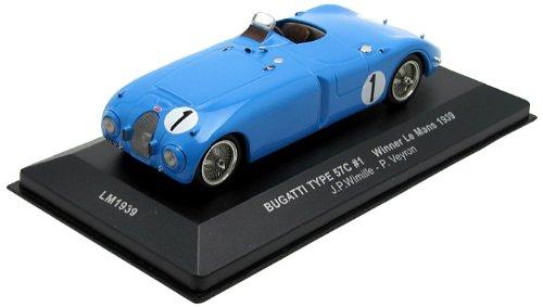 Preisvergleich Produktbild Bugatti Type 57C #1 Wimille, Veyron Winner LeMans 1939 1:43 Ixo