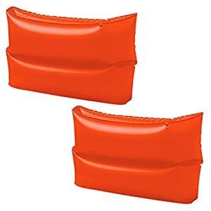 Intex - Manguitos hinchable, 25 x 17 cm, color naranja neón (59642EU)