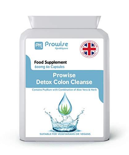 Detox colon cleanse - dimagrimento dietetico - prodotto nel regno unito - di prowise healthcare
