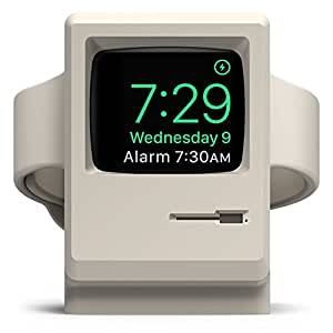 elago W3 - Support vintage pour AppleWatch, Apple Watch Series 1, 2, 3, blanc