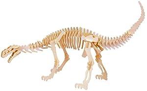 Eureka-Gepetto 52473178 Plateosaurus - Puzzle en 3D (Madera)