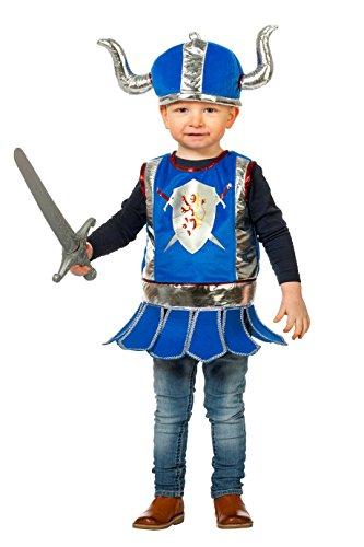 Kleinkind Ritter Kostüm Des Drachen - Jannes - Kinder-Kostüm Ritter, blau, Kleinkinder 98