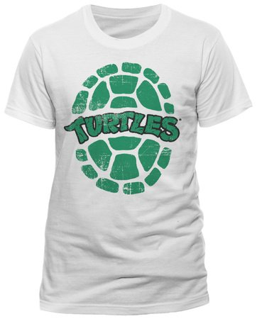 Teenage Mutant Ninja Turtles-Shell-T-shirt, Weiß