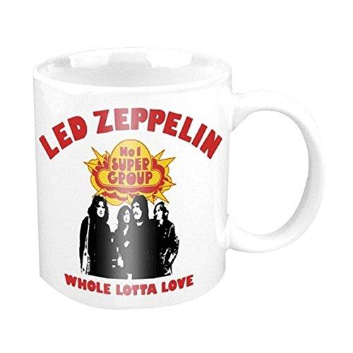 Led Zeppelin Kaffeetasse Whole Lotta Love Nue offiziell Boxed (Led Zeppelin Kaffeetasse)