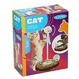 Katzenspielzeug 14,5x24cm Plüsch 3Mäuse Kunststoff gefedert Katzen Spielzeug Set
