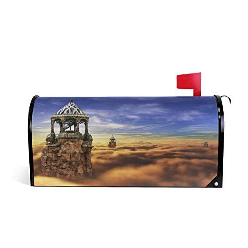 Wonderland Briefkasten-Abdeckung, magnetisch, Übergroß, 63,5 x 5,8 cm 64.7x52.8cm Mehrfarbig ()