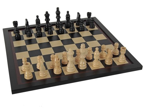 AQUAMARINE GAMES - AJEDREZ BLACK SERIES  JUEGO DE MESA (COMPUDID CP001)